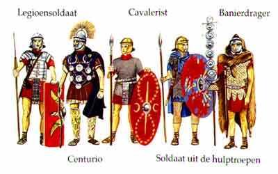 Leger Leven In Een Romeinse Stad